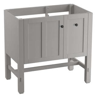KOHLER Tresham 35-3/4 in. x 18-1/4 in. x 32-1/2 in. Vanity Cabinet in Mohair Grey