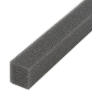 """M-D 02006 1-1/4"""" X 1-1/4"""" X 42"""" Gray Air Conditioner Weather Strip"""