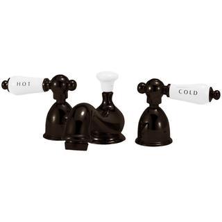 Elizabethan Classics 4 in. Minispread 2-Handle Mid Arc Bathroom Faucet in Oil Rubbed Bronze