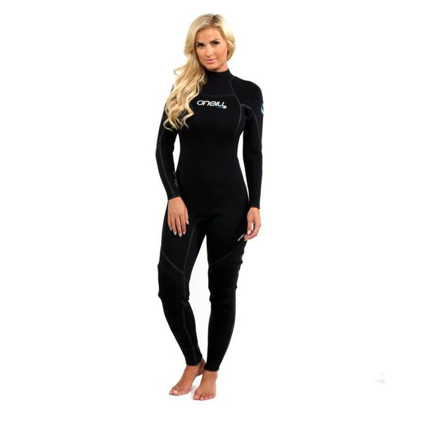 O'Neill Women's Sector 3mm FSW Full Black Wetsuit