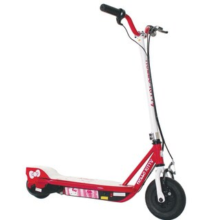 Hello Kitty Unisex White and Red 24-volt Electric Scooter