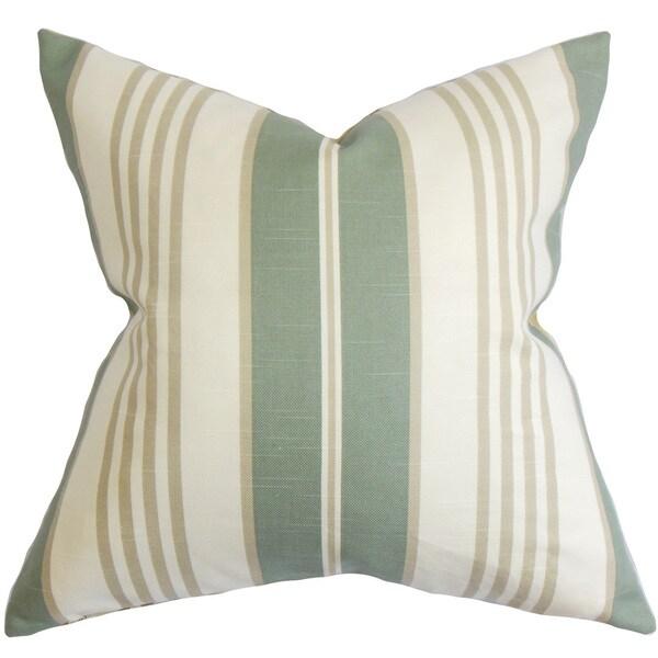 Vigee Stripes Euro Sham Green