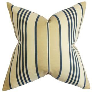 Vigee Stripes Euro Sham Blue