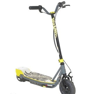 Hot Wheels Black and Grey 24-volt Electric Scooter