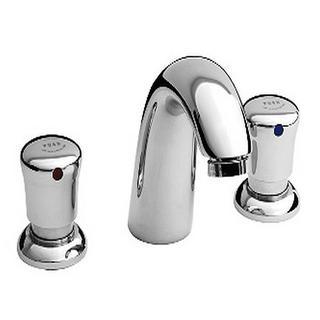 American Standard Metering 8 in. Widespread 2-Handle Bathroom Faucet in Polished Chrome