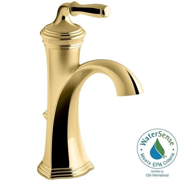 Shop Kohler Devonshire Single Hole Single Handle Bathroom Faucet In