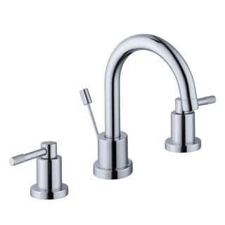 Schon Axel 8 in. Widespread 2-Handle High-Arc Bathroom Faucet in Chrome