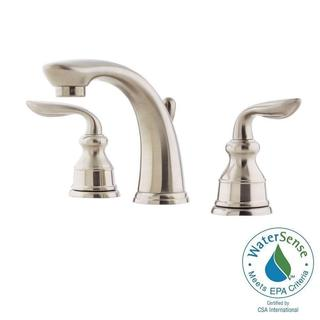 Pfister Avalon 8 in. Widespread 2-Handle Bathroom Faucet in Brushed Nickel