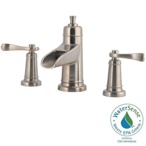 Pfister Ashfield 8 in. Widespread 2-Handle Bathroom Faucet in Brushed Nickel