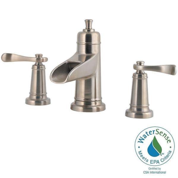 Shop Pfister Ashfield 8 In Widespread 2 Handle Bathroom Faucet In