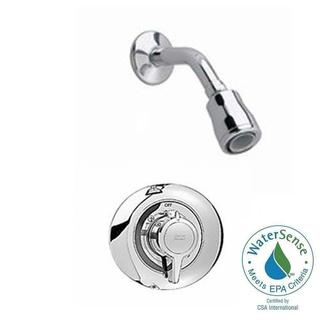 American Standard Colony 1-Handle Shower Faucet Trim Kit in Polished Chrome (Valve Not Included)