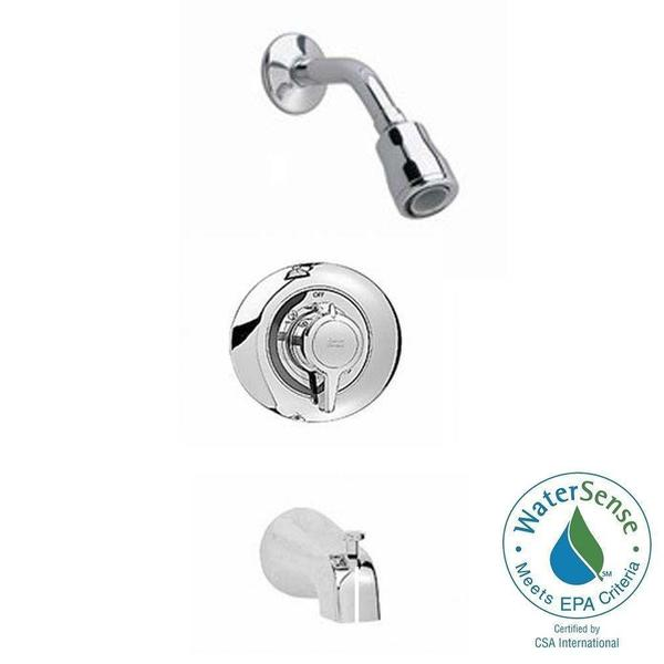 Shop American Standard Colony 1-Handle Tub and Shower Faucet Trim ...