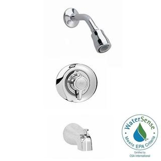 American Standard Colony 1-Handle Tub and Shower Faucet Trim Kit in Polished Chrome (Valve Not Included)