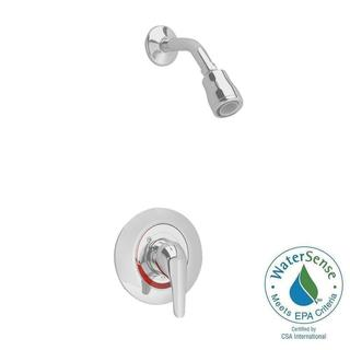 American Standard Colony Soft 1-Handle Shower Faucet Trim Kit w/ Flo-Wise Water Saving Showerhead (V