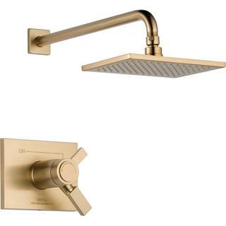 Delta Vero TempAssure 17T Series 1-Handle Shower Faucet Trim Kit in Champagne Bronze (Valve Not Included)