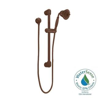 American Standard FloWise Traditional 3-Spray Wall Bar Shower Kit in Oil Rubbed Bronze