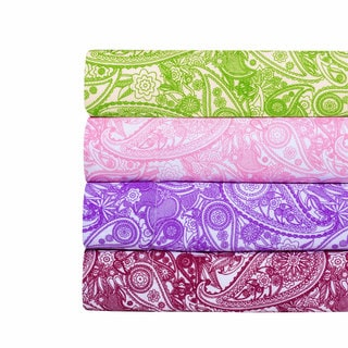 Paisley Print Super Soft Microfiber Sheet Set