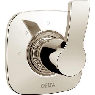Delta Tesla 1-Handle 3 Setting Diverter Valve Trim Kit in Polished Nickel (Valve Not Included)