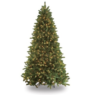Puleo Tree Company Glacier Fir 7.5-foot Clear 700-bulb Pre-lit Artificial Christmas Tree