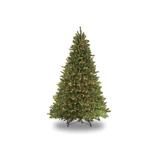 Puleo International Green Fir 9-foot Artificial Christmas Tree with 1000 Clear LIghts