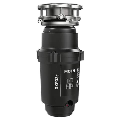 MOEN GX Pro Series 1/3 HP Continuous Feed Garbage Disposal