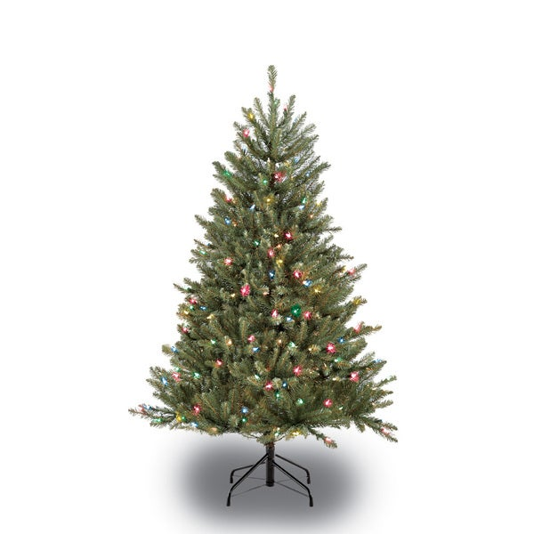 Christmas Tree Company Greytown : Puleo international green artificial christmas tree with