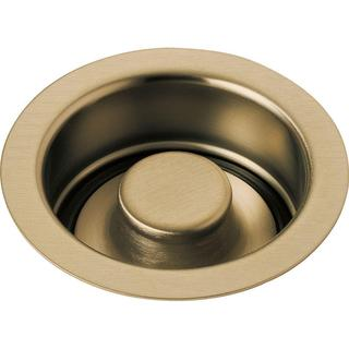 Delta 4-1/2 in. Kitchen Sink Disposal and Flange Stopper in Champagne Bronze 72030-CZ