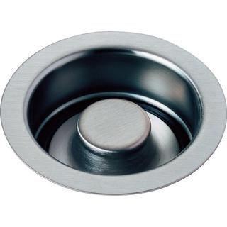Delta 4-1/2 in. Kitchen Sink Disposal and Flange Stopper in Arctic Stainless 72030-AR