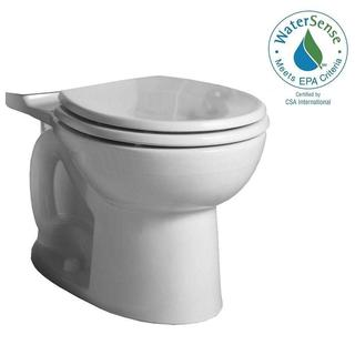 American Standard Cadet 3 FloWise Right Height Round Toilet Bowl Only in White