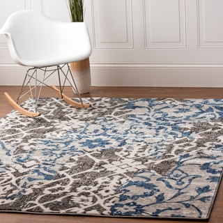 Machine Woven Distressed Maya Area Rug (5'3 x 7'3)
