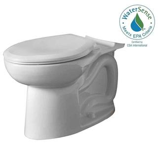 American Standard Cadet 3 FloWise Right Height Elongated Toilet Bowl Only in White