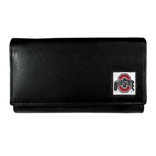 NCAA Ohio State Buckeyes Sports Team Logo Leather Women's Wallet
