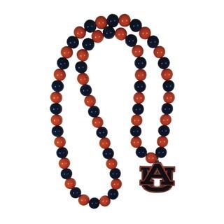 NCAA Auburn Tigers Sports Team Logo Fan Bead Necklace