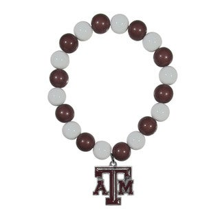 NCAA Texas A&M Aggies Beaded Bracelet
