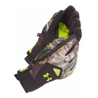 Under Armour Men's ColdGear Polyester Spandex Infrared Scent Control 2.0 Primer Gloves