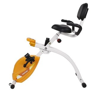 Loctek U1 Office Fitness Under Desk Upright Bike with Back Rest