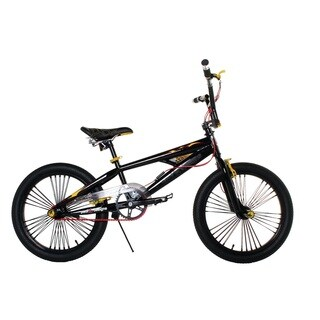 PJD 20-inch Boy's Black Freestyle Anti Venom Bike