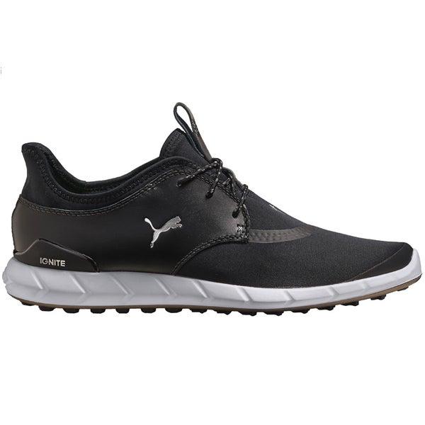 PUMA Ignite Spikeless Sport Golf Shoes 2016 Black/Silver