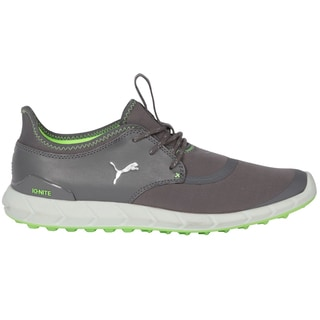 PUMA Ignite Spikeless Sport Golf Shoes 2016 Smoked Pearl/Silver/Green