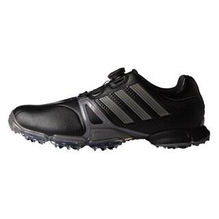 Adidas Powerband Tour Boa Golf Shoes 2016 Black/Silver