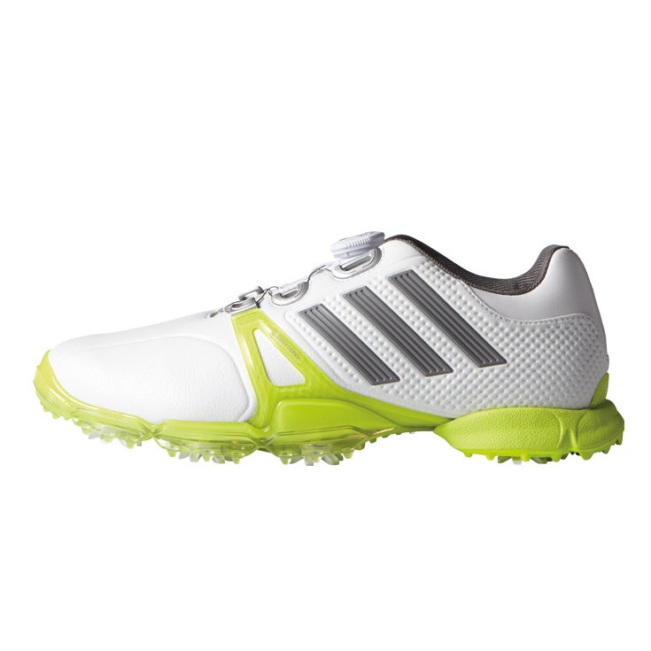 Adidas Men's Power Band Tour Golf Shoes Dial F33373 White