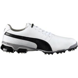PUMA Titantour Ignite Golf Shoes 2016 White/Black/Drizzle