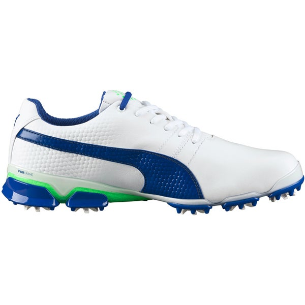 PUMA Titantour Ignite Golf Shoes 2016 White/Blue/Green Gecko