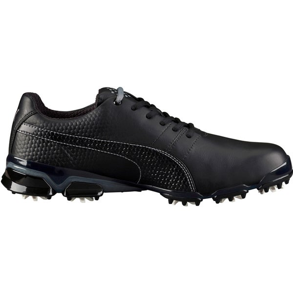 60d2692ee7a4 Shop PUMA Titantour Ignite Golf Shoes 2016 Black Steel Grey - Free Shipping  Today - Overstock.com - 12888782