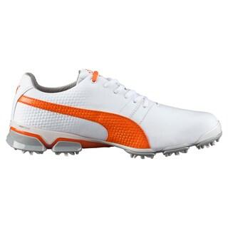PUMA Titantour Ignite Golf Shoes 2016 White/Vibrant Orange/Drizzle