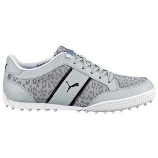 PUMA Monolite Cat Mesh Golf Shoes 2016 Ladies Quarry/White/Black