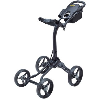 BagBoy Quad XL Golf Cart - Matte Black/Red - N/A