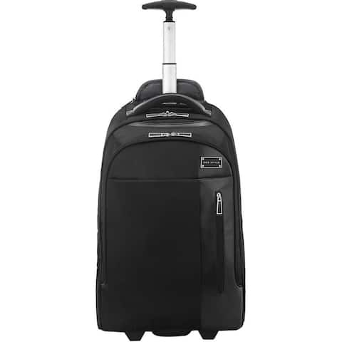 """ECO STYLE Tech Exec Carrying Case (Rolling Backpack) for 17.3"""" Notebook"""