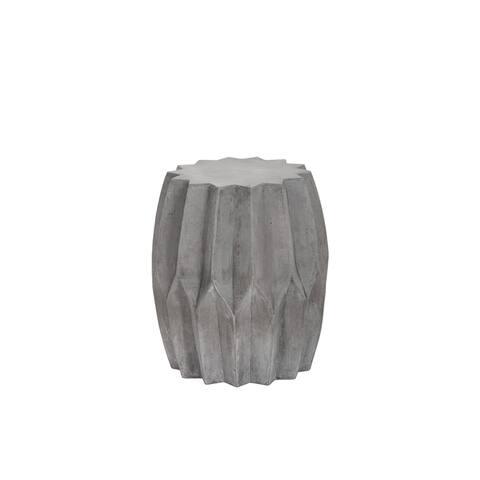 Rori Grey Concrete Side Table