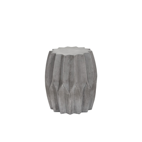 concrete side table. Rori Grey Concrete Side Table